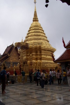 Doi Suthep golden spire