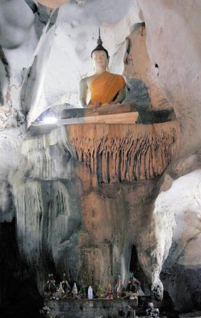 Muang On Cave - Buddah Statue