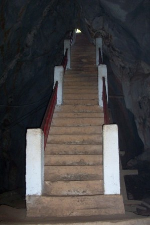 Muang On Cave - Staircase